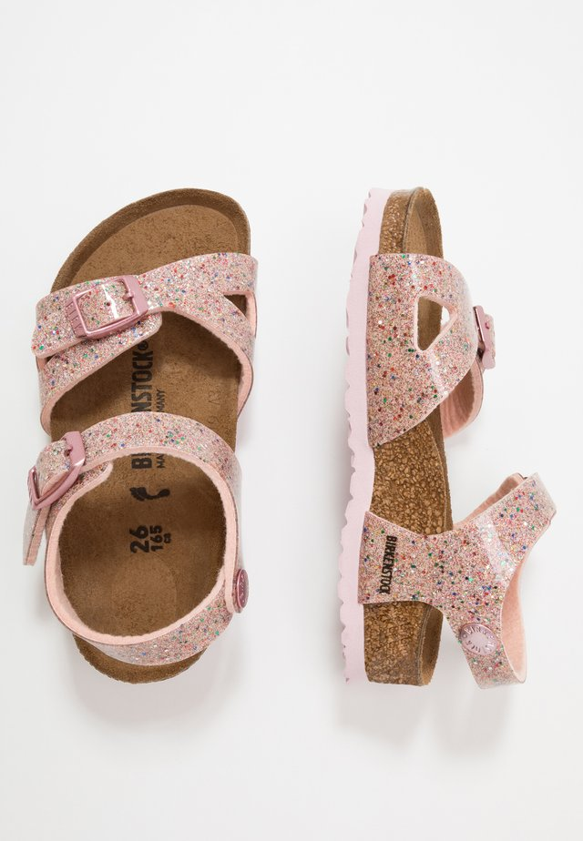RIO - Sandals - cosmic rose/multicolor