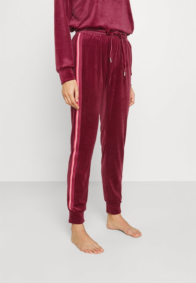JOGGER STRIPE - Pyjamabroek - rumba red