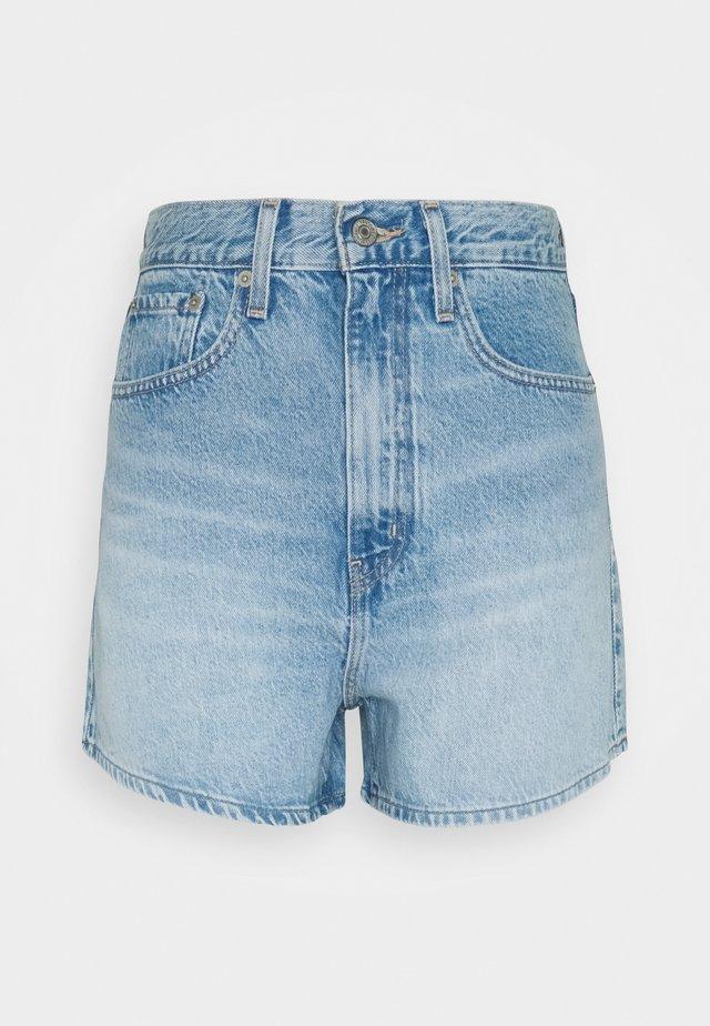 HIGH LOOSE - Denim shorts - one time