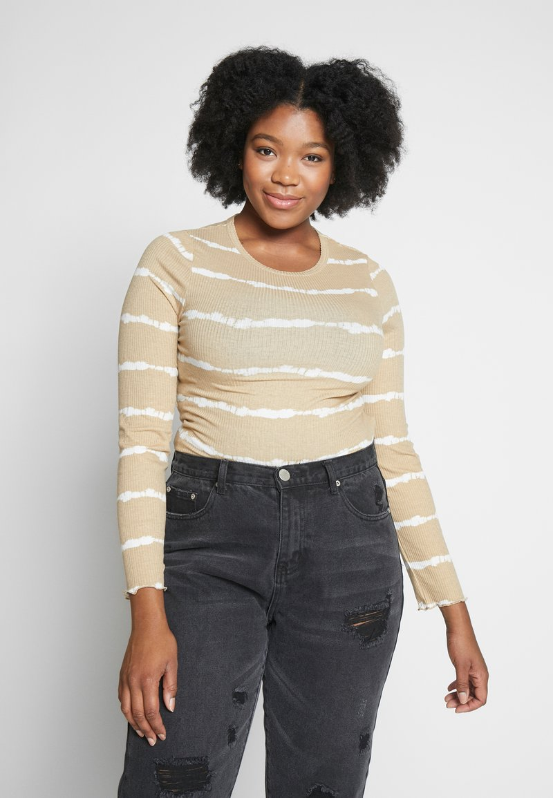 Cotton On Curve - SISTER LONG SLEEVE - Long sleeved top - marshmallow tie dye