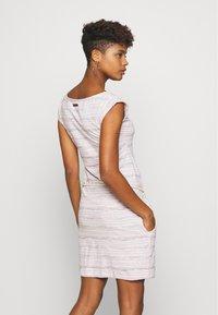Ragwear - TAG SEA - Žerzejové šaty - light pink - 2