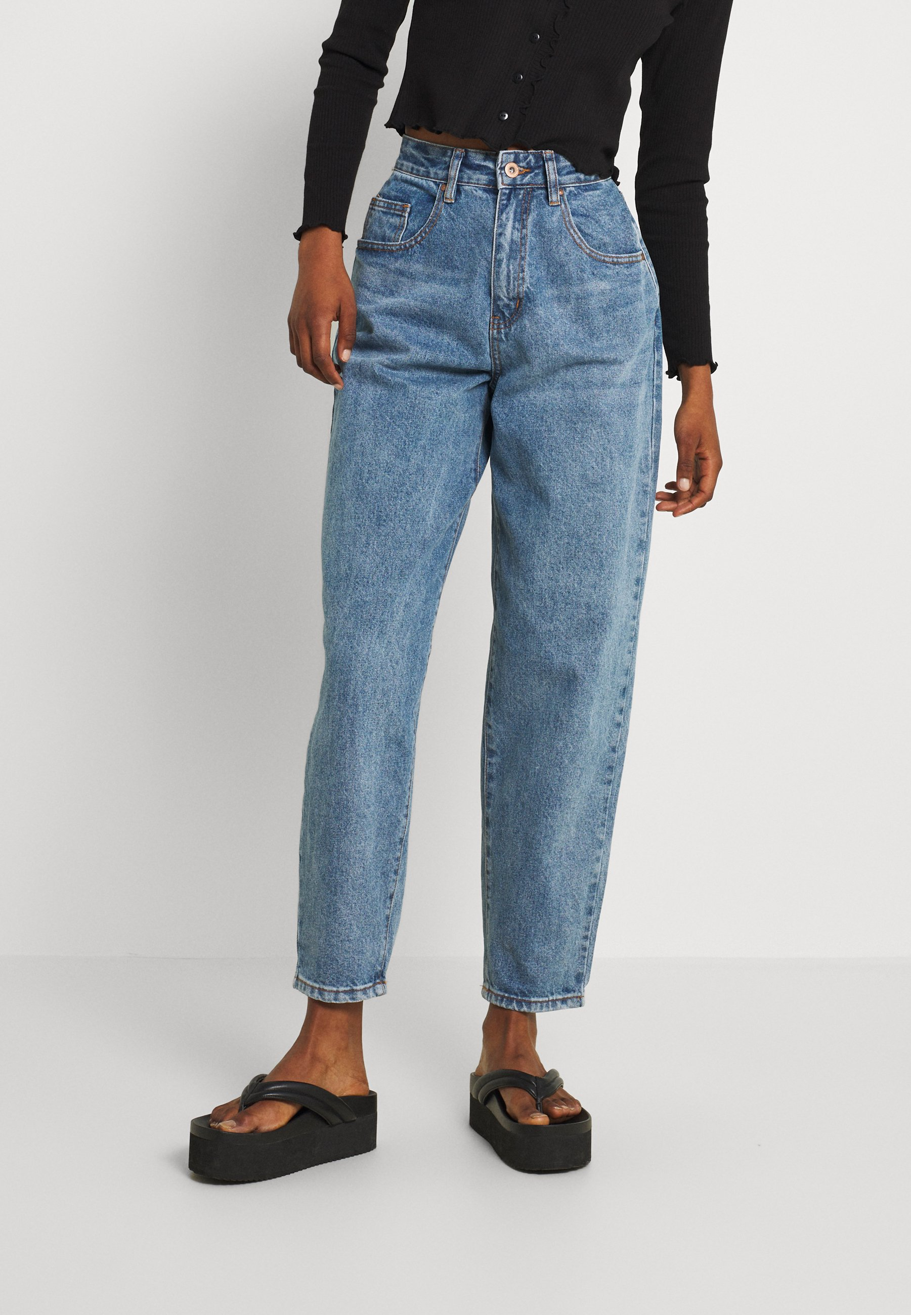 Women SLOUCH MOM - Relaxed fit jeans