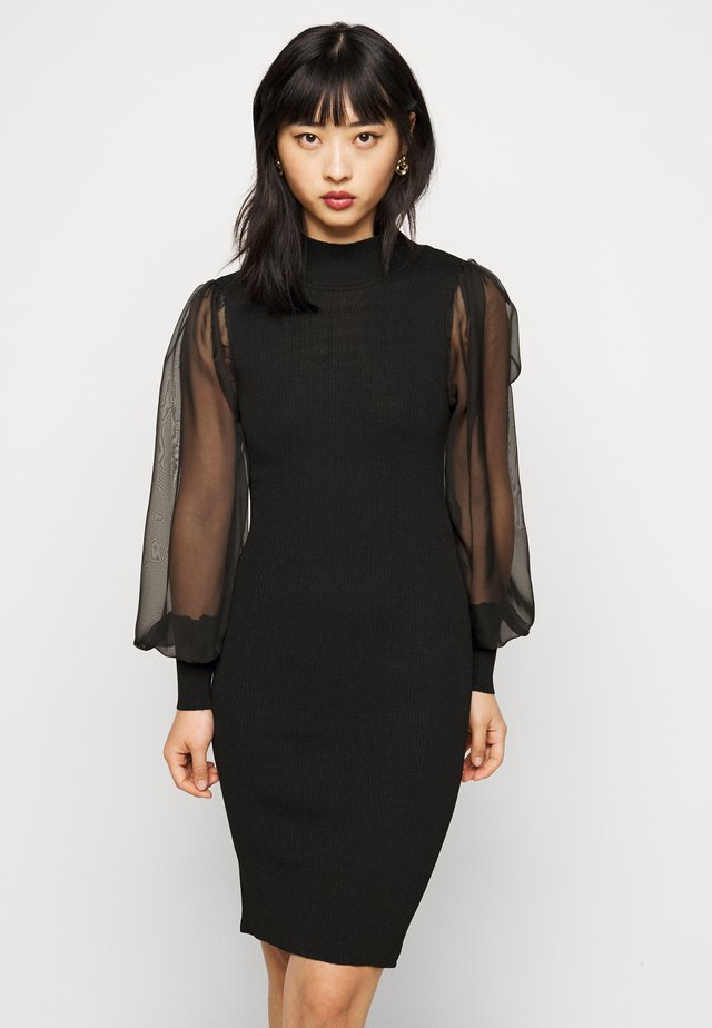 YASMELANIE DRESS  - Korte jurk - black