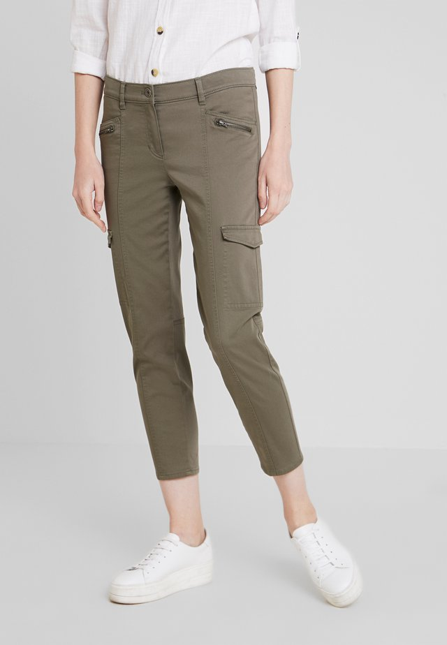 Cargo trousers - agave green