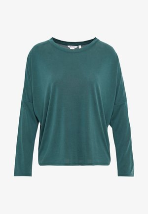 CLAUDIA - Langærmede T-shirts - green dark
