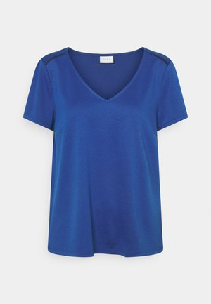 VITINNY V NECK - Basic T-shirt - mazarine blue
