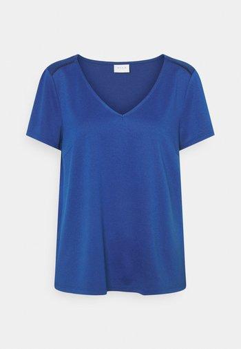 VITINNY V NECK - T-paita - mazarine blue