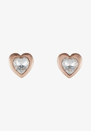 HEART - Earrings - rose gold-coloured