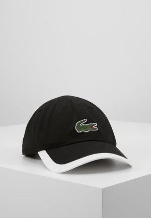 TENNIS CAP - Keps - black/white