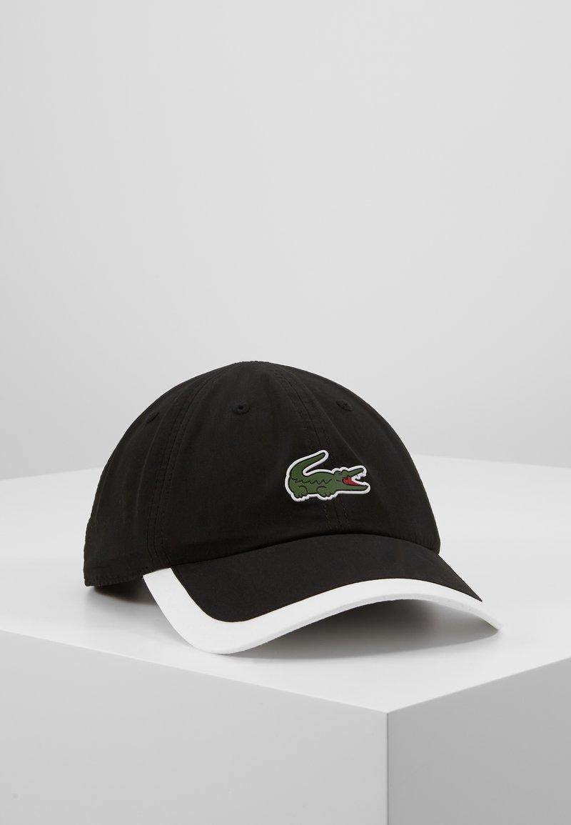Lacoste Sport - TENNIS CAP - Cappellino - black/white