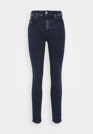 SLANDY HIGH - Jeans Skinny Fit - dark blue denim