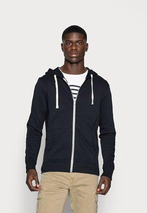 JJEHOLMEN - Zip-up sweatshirt - navy blazer