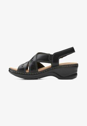 LEXI PEARL - Sandalias - black leather