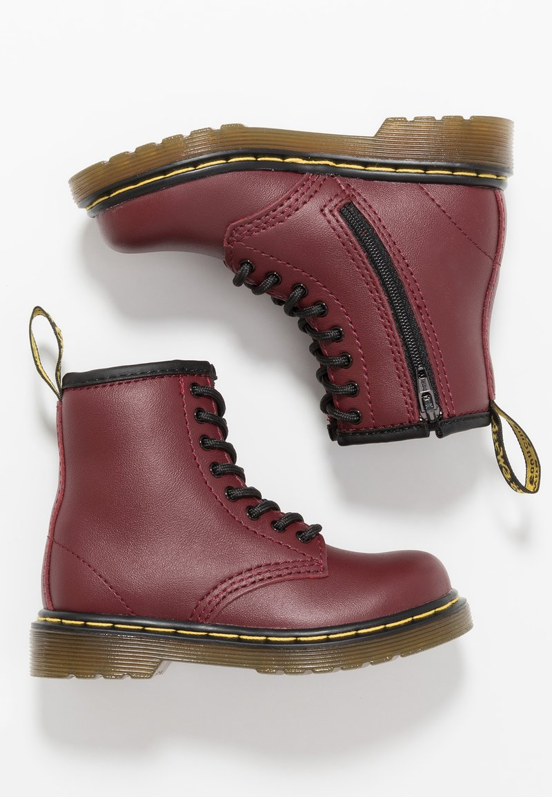 Dr. Martens - 1460 T SOFTY - Korte laarzen - cherry red