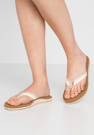 VOYAGE LITE BEACH - Sandály s odděleným palcem - natural ombre