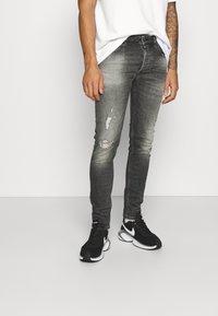 Tigha - MORTEN DESTROYED - Jeans slim fit - dark grey - 0