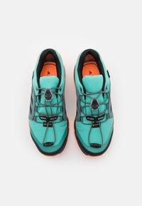 adidas Performance - TERREX GTX UNISEX - Hiking shoes - acid mint/core black/screaming orange - 3