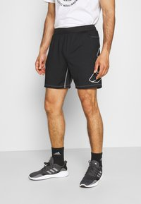 adidas Performance - HYPE SHORT - Sportovní kraťasy - black - 0