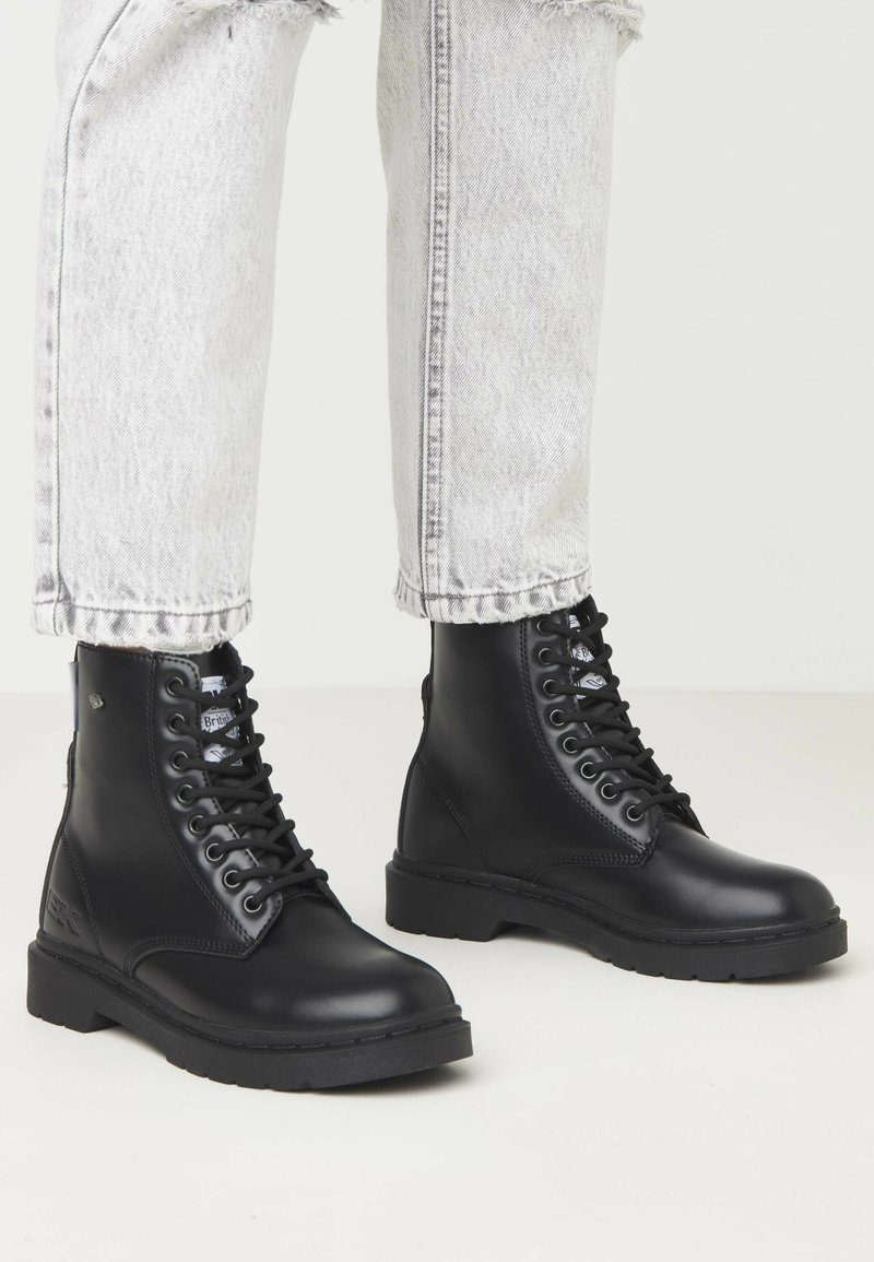 British Knights - Lace-up ankle boots - black