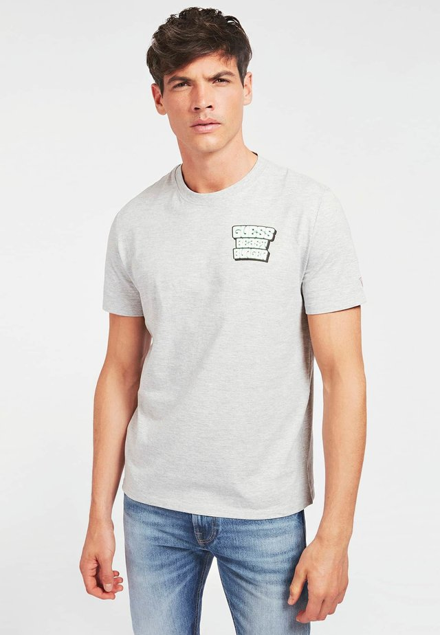 BEST BURGER TEE - Print T-shirt - gris clair