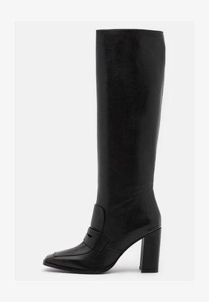 Boots med høye hæler - firenze nero