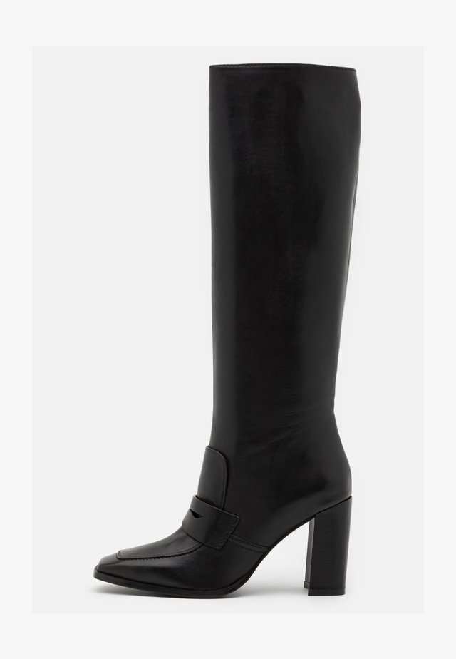 High heeled boots - firenze nero
