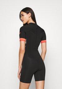Roxy - Swimsuit - black/bright coral - 2