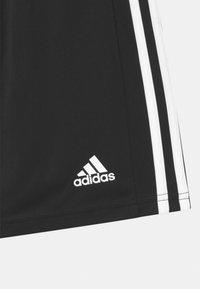 adidas Performance - SQUAD UNISEX - Sportovní kraťasy - black/white - 2