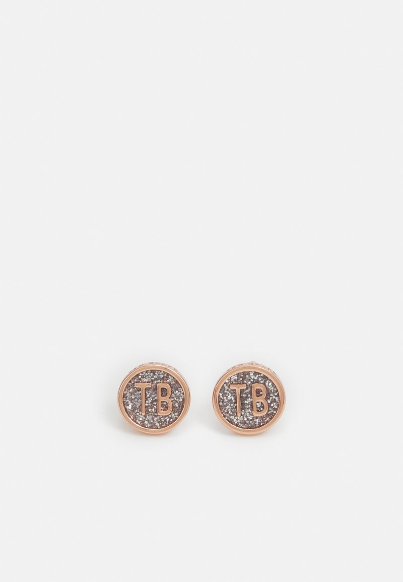 Ted Baker - DOLLSA DOLLY ROUND EARRING - Earrings - rose gold-coloured/silver-coloured