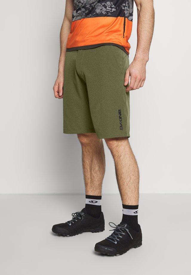 SYNCLINE SHORT - Pantalón corto de deporte - dark olive