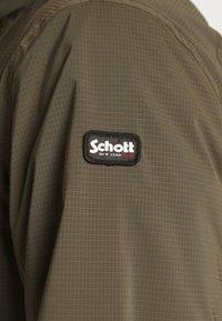 Schott - FOXTER RIPSTOP - Summer jacket - khaki - 8