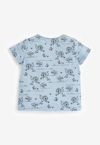 Next - 3 PACK - Print T-shirt - blue - 4