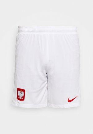 POLEN SHORT - Sports shorts - white/sport red