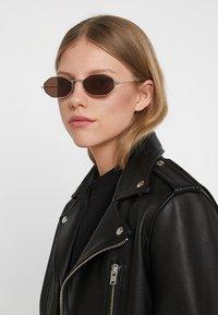 Alexander McQueen - Sunglasses - silver-coloured - 3