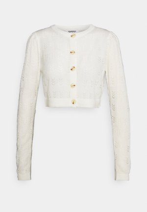 LADIES CARDIGAN - Cardigan - cream