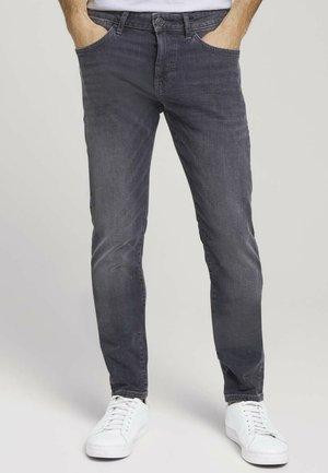 TROY  - Slim fit jeans - grey denim
