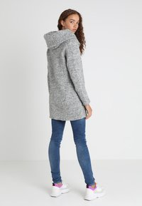 ONLY - ONLSEDONA COAT - Kurzmantel - light grey melange - 2