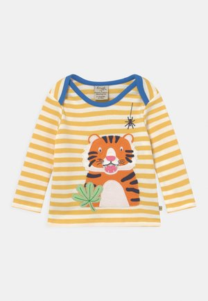 BOBBY APPLIQUE TIGER UNISEX - Long sleeved top - yellow