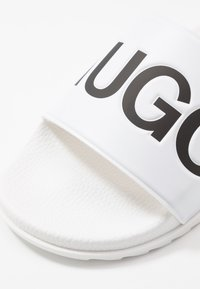 HUGO - MATCH SLID - Mules - open white - 5