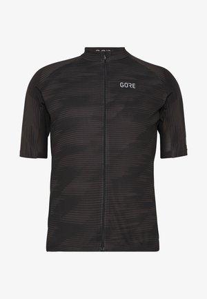 GORE® C3 DESIGN TRIKOT - Print T-shirt - black