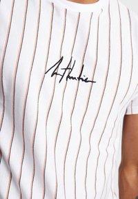 New Look - ATLANTIC VERT STRIPE TEE - T-shirt con stampa - white - 4