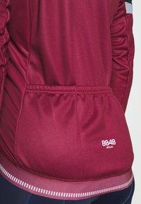 8848 Altitude - CHERIE JACKET LEOPARD - Training jacket - burgundy - 4