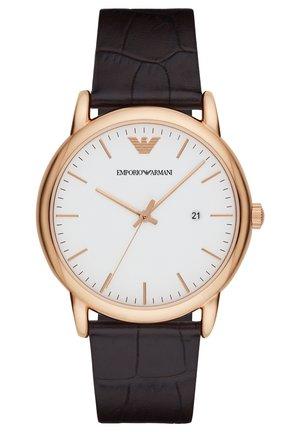 Watch - dark brown