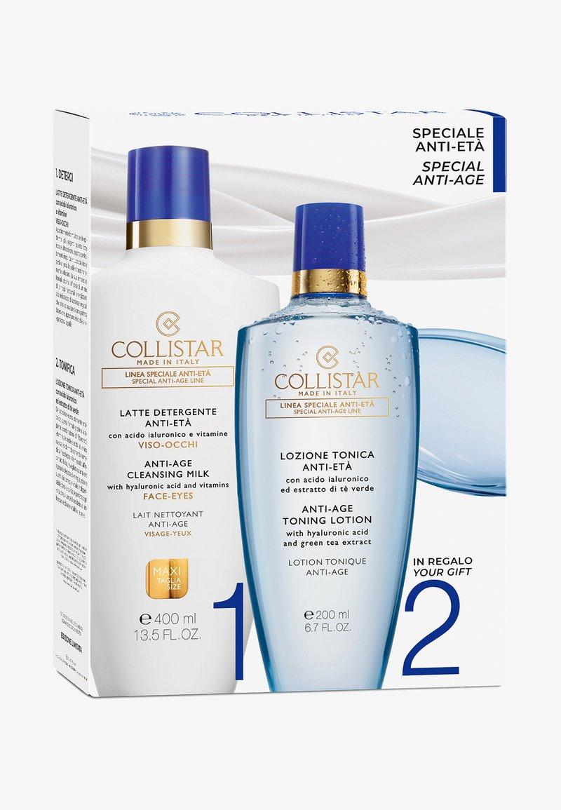 Collistar - ANTI-AGE CLEANSING MILK FACE-EYES KIT - Skincare set - -