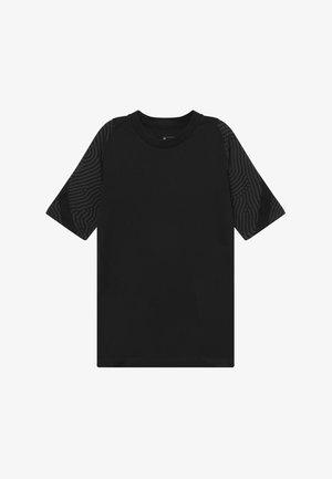 T-shirt z nadrukiem - anthracite/black