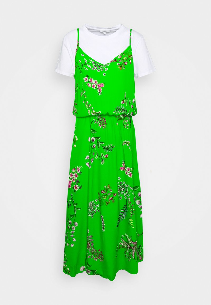 Desigual - VEST NEIDA - Robe d'été - lime green
