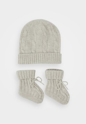 APPAREL ACCESSORIES SET - Bonnet - light grey heather