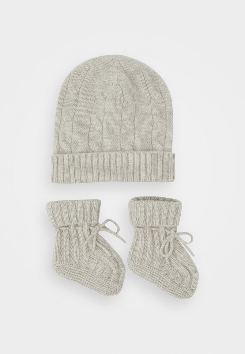 Polo Ralph Lauren - APPAREL ACCESSORIES SET - Bonnet - light grey heather