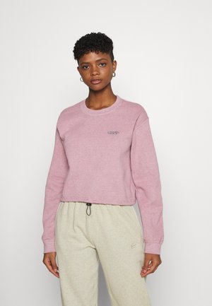 BUBBLE HEM - Sweatshirt - pink
