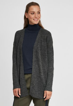 GISELE - Cardigan - dark grey melange